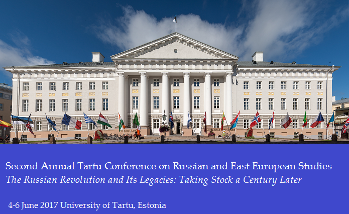Second Annual Tartu Conference on Russian and East European Studies